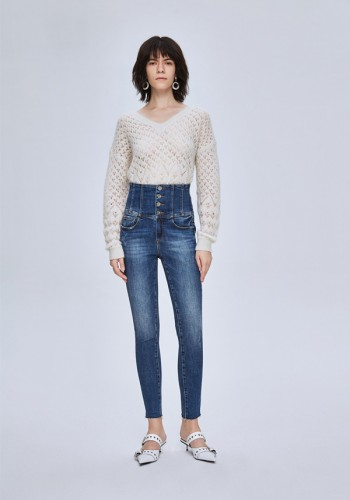 JEAN HIGH WASTE WITH A BODICE PUSH UP MISS SIXTY